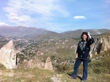 Dana Walrath in Armenia
