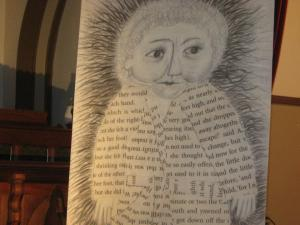 Dana's art for her Aliceheimer's Project