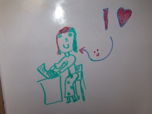 my daughter's portrait of me :)