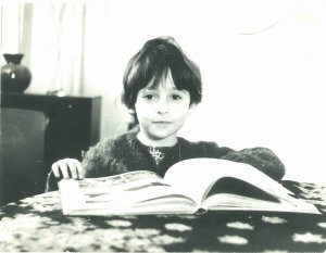 the younger me...a total dreamer and believer in magic