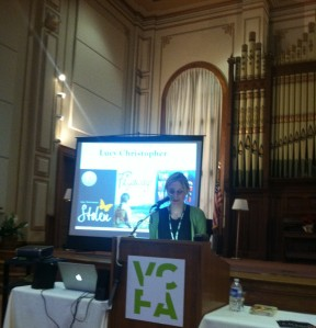 Lucy Christopher at VCFA